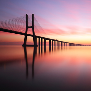 Vasco da Gama bridge - Lisabon
