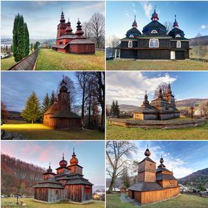 Drevené chrámy