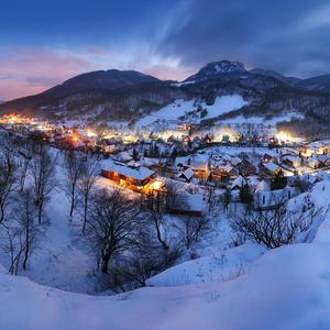 Zima pod Vršatcom