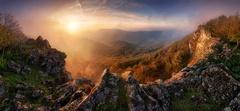 Ráno na hrebeni Vápennej