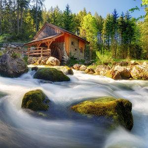Vodný mlyn v Gollingu