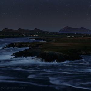 pri nočnom oceáne