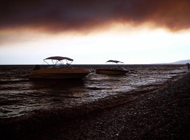 Grécko2008-V dyme požiaru