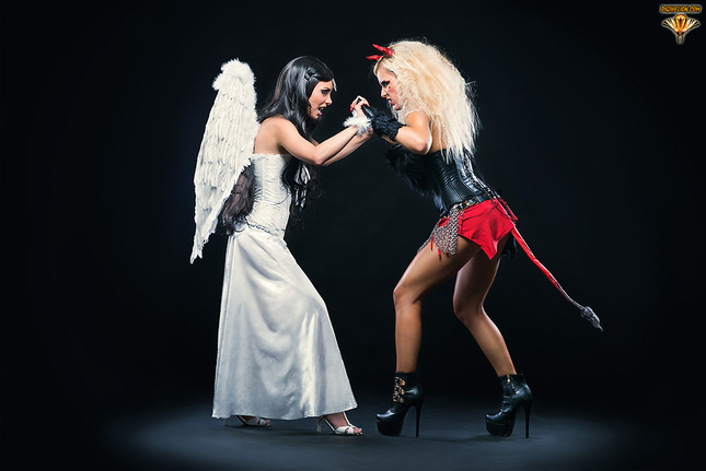 Angel VS Devil
