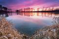 farebný rybník