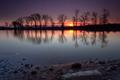 podvečer na rybníku