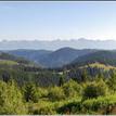 Výhľad z hrebeňa Nízkych Tatier