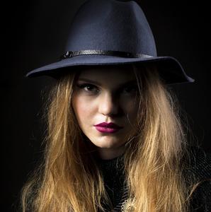 Portrait of redhead girl III