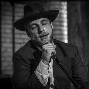 Portrait of Singing actor