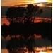Západ slnka na  ramene Dunaja