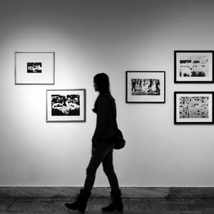 V galérii