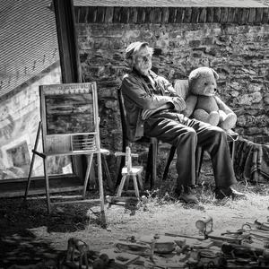 Starec a burza