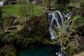 Mestečko vodopádov