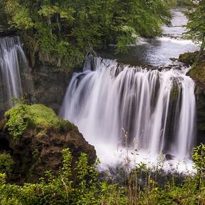 Vodopády v Slunji
