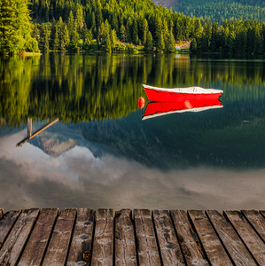 Pri brehu jazera
