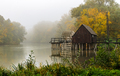 V jesenných hmlách