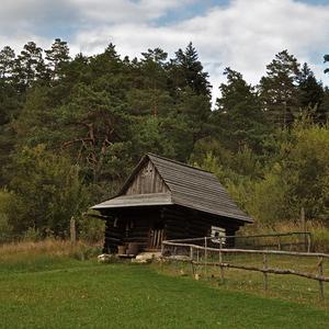 skanzen Stará Ľubovňa - koliba