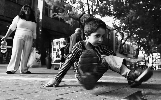 Street breakdance