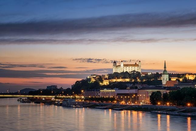 Čarovný večer na Dunaji