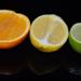 orange & lemon & lime