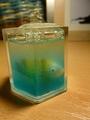 ryba v rozbúrenej vode