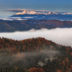 Jesenná inverzia v Pieninách II