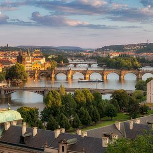 Praha v zlatom šate