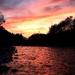 Zapad slna, rieka Belá