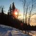Západ slnka na Polome II