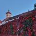 Jesenné farby na hradnom múre