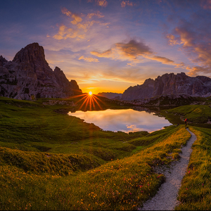 Nebeské zrkadlá...(Dolomiti)