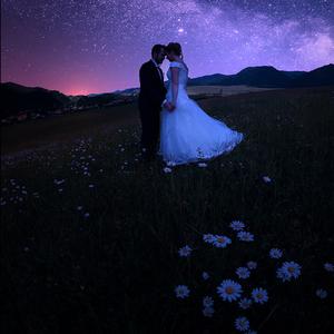 Romantika pod hviezdami...