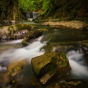 Na potoku v Radoli....