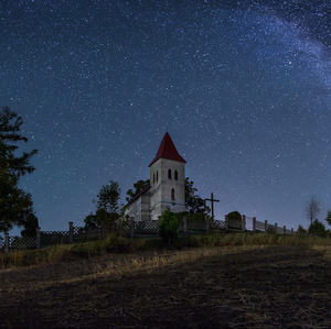 Kostolík v Abramovej...