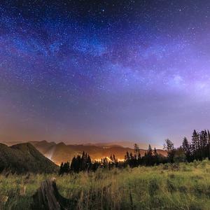 Milky Way a Kysucké pyramídy