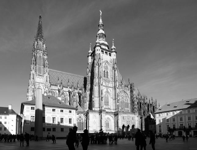 hradné nádvorie