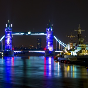 Tower Bridge & HMS Belfast