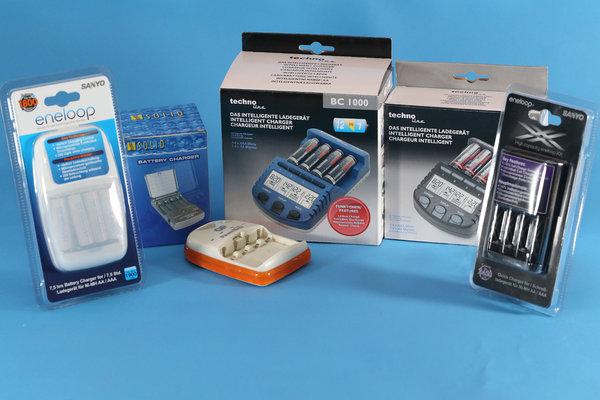 Nabíjačky NiMH batérií - charakteristika, porovnanie, test