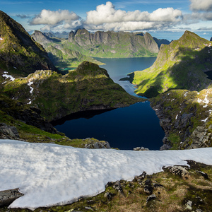Jazerá a fjordy