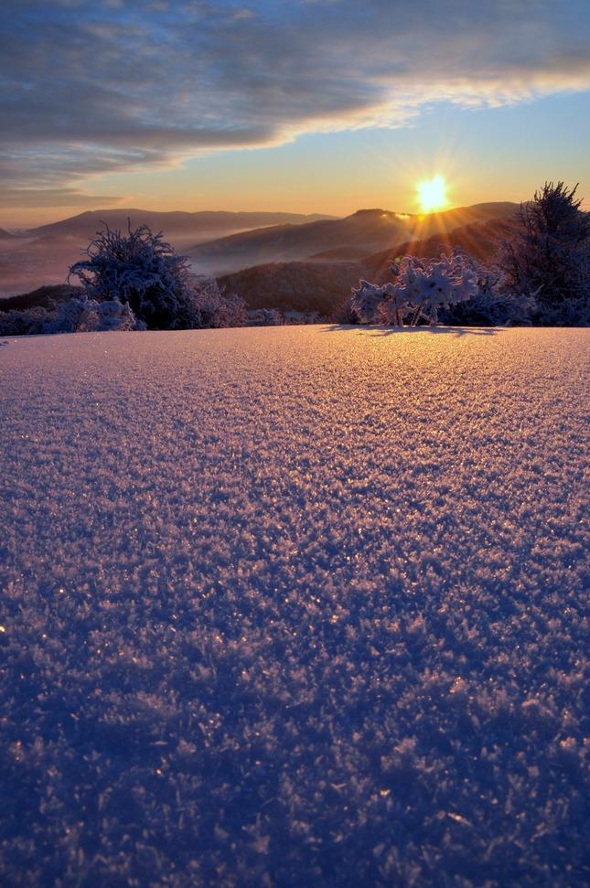 snehové farebné variácie  ..