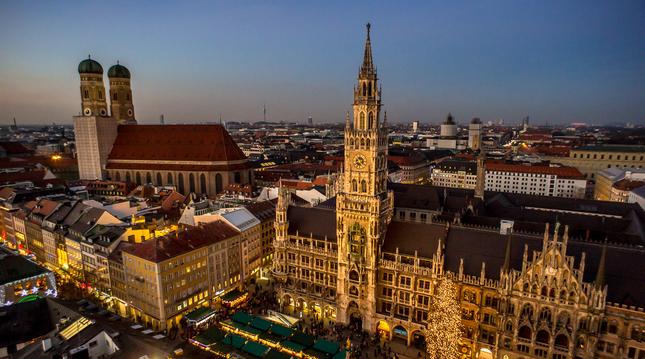 vianočný Mnichov
