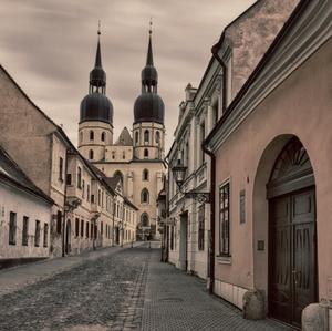 ulica mesta Trnava