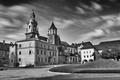 Na hrade Wawel