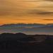 Tatry pri východe slnka z Kľaku