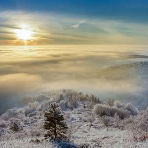Ráno nad Štiavnicou