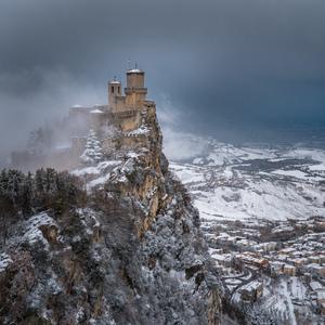 Snehová nádielka v San Maríne