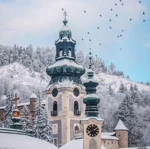 Zasnežená Štiavnica