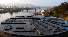 ráno v Prahe