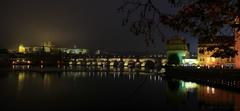 večer v Prahe