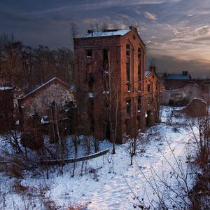 Zima v meste duchov